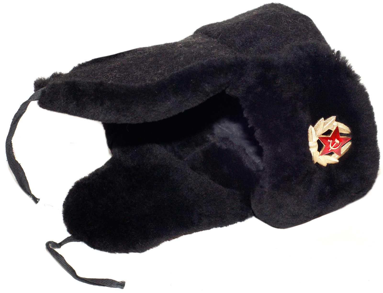 bcd7ce64abaf3 Navy officer of the Russian Federation mouton ushanka hat. Current issue.